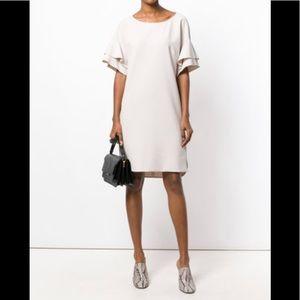 Luisa cerano flared sleeve dress far fetch